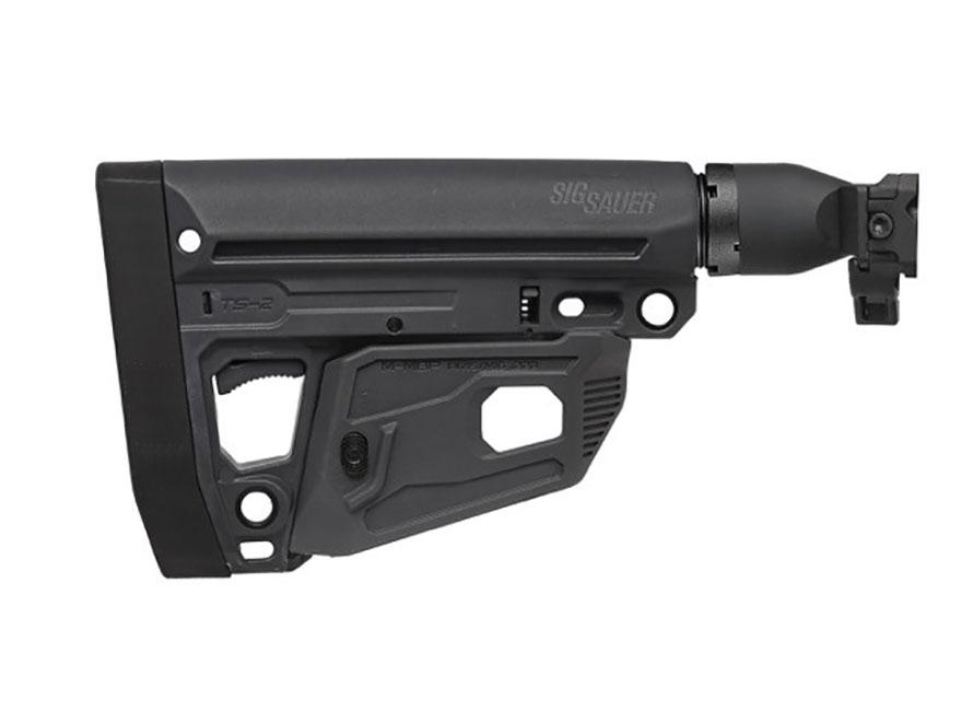 Sig Sauer Folding M4 Stock Assembly Sig MPX, MCX Black