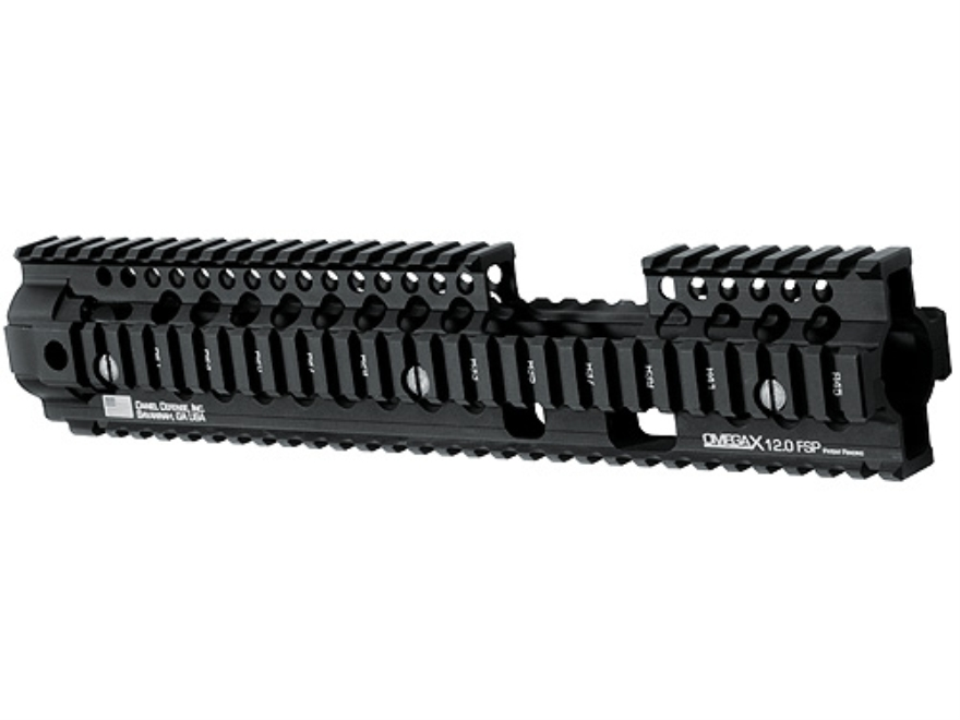Daniel Defense Omega X 12.0 FSP Free Float Tube Handguard Quad Rail AR-15 Extended Carb...