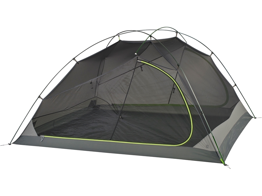 "Kelty TN 4 Person Dome Tent 93.5"" x 86"" x 45"" Nylon Green and Grey"