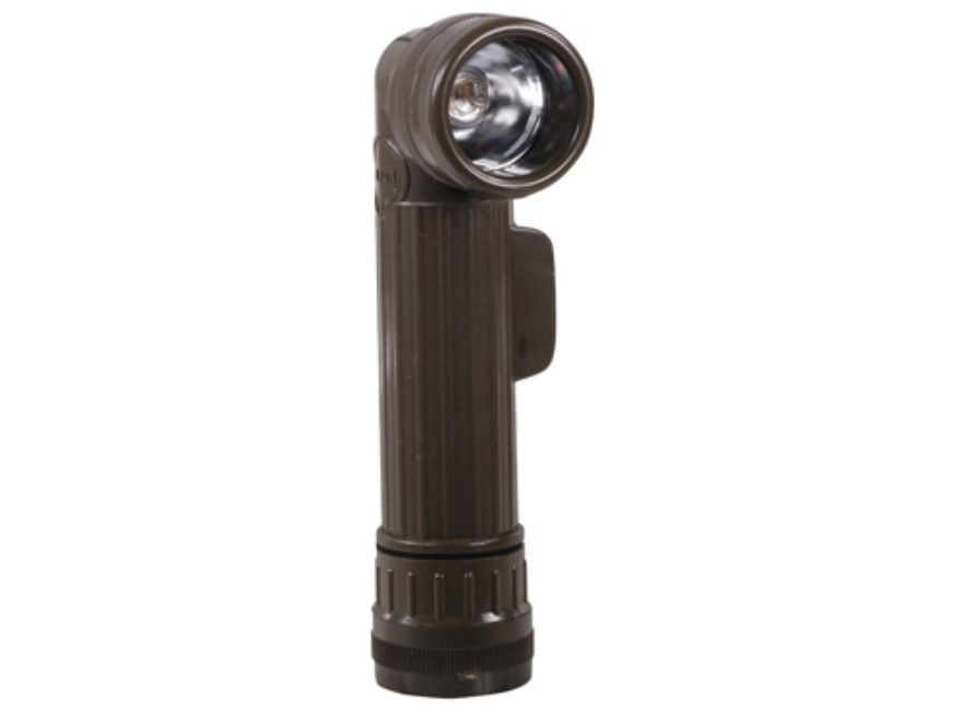 5ive Star Gear USGI Anglehead Flashlight Requires 2 D Cell Batteries (Not Included) Pol...