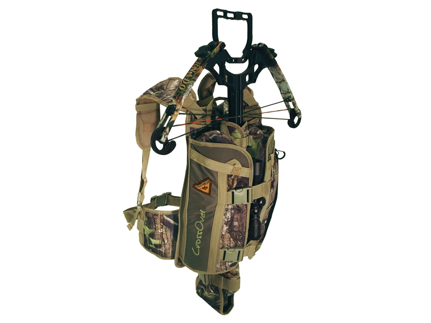 GamePlan Gear CrossOver Crossbow Pack Polyester Realtree AP Camo