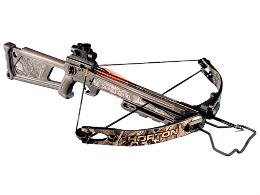 horton crossbow 150 dot summit realtree 25mm package hardwoods camo loading midwayusa