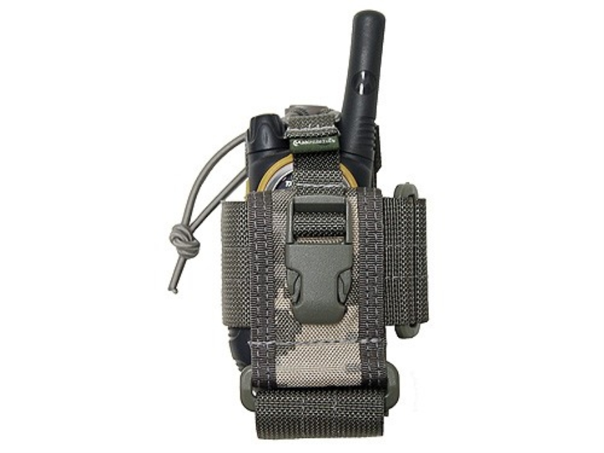 "Maxpedition Radio and Cell Phone Pouch 4-1/2"" x 2-1/2"" x 1"" Nylon Digital Camo"