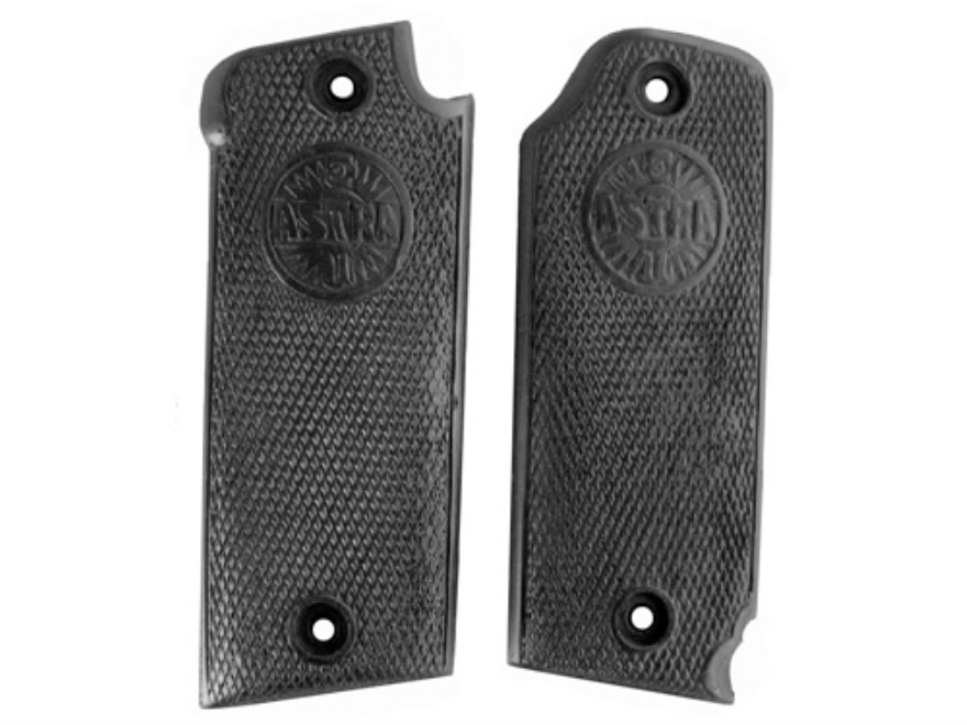 Vintage Gun Grips Astra 1921 9mm Luger Polymer Black