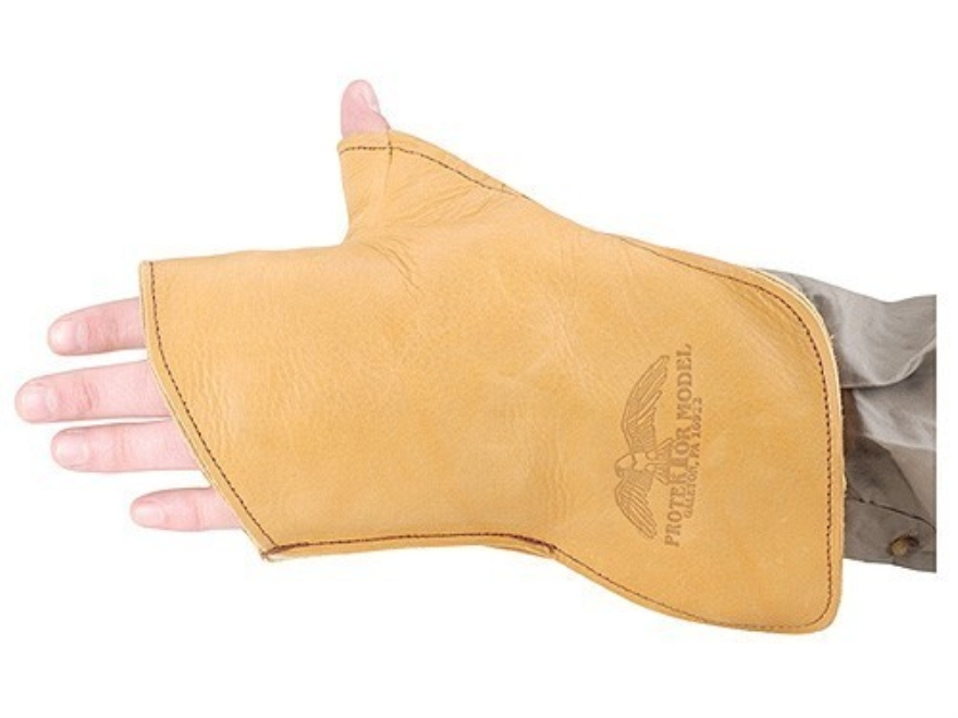 Protektor Small Bore Competition Shooting Glove Leather
