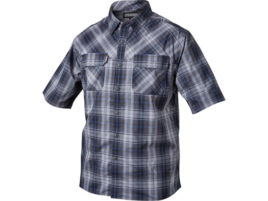 BLACKHAWK! Men's 1730 Button-Up Shirt Short Sleeve Cotton/Polyester/Lycra