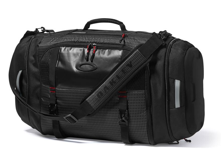 Oakley Link Duffel Bag Polyester Jet Black