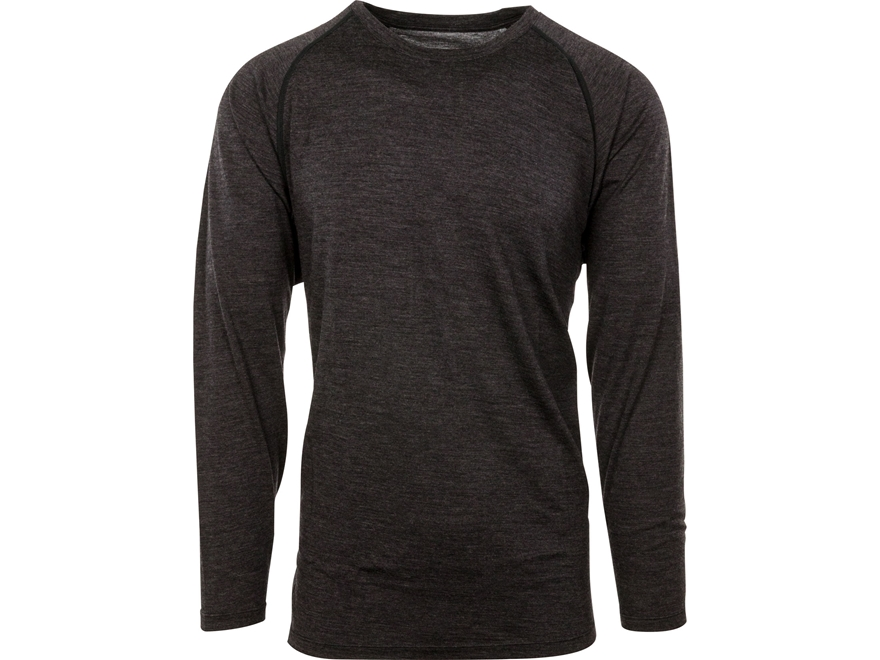 MidwayUSA Men's Lightweight Merino Long Sleeve Base Layer Shirt