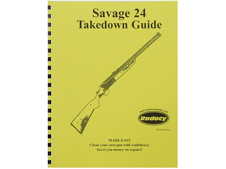 "Radocy Takedown Guide ""Savage 24"""