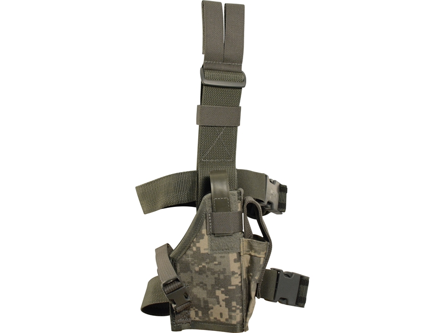 Military Surplus Drop Leg Holster Grade 1 Right Hand Glock 17, 19, 22, 23, 27, Sig P226...
