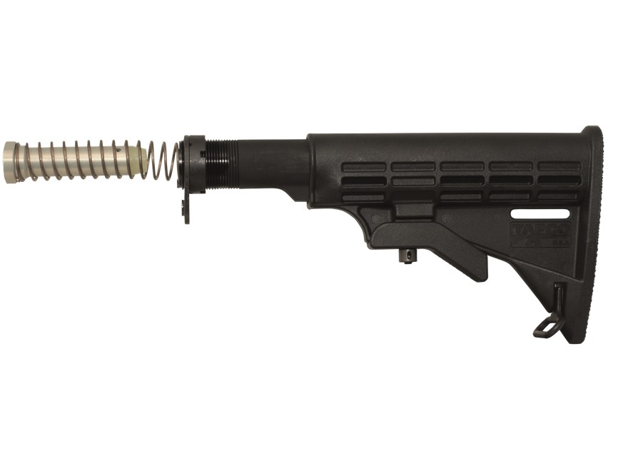 TAPCO Intrafuse T6 Stock Assembly 6-Position Collapsible AR-15 Carbine Synthetic