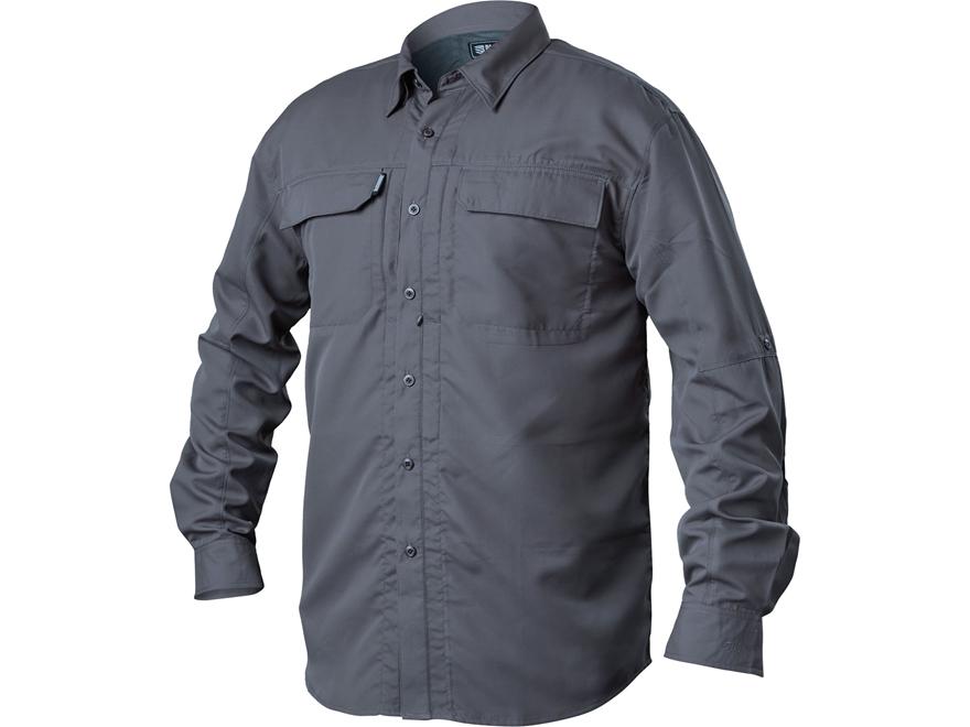 BLACKHAWK! Men's Tac Convertible Button-Up Shirt Long Sleeve Polyester Ripstop