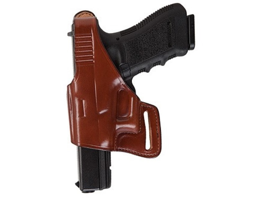 Bianchi 75 Venom Belt Holster Left Hand 1911 Government Leather Tan