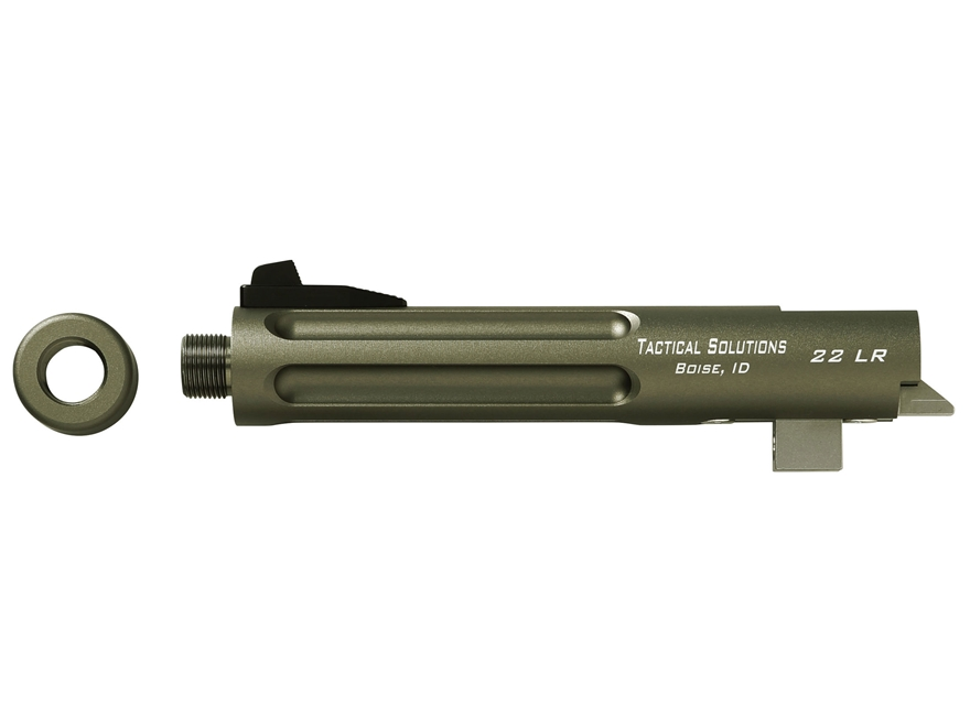 "Tactical Solutions Trail-Lite Barrel Browning Buck Mark 22 Long Rifle 1 in 16"" Twist 5-..."