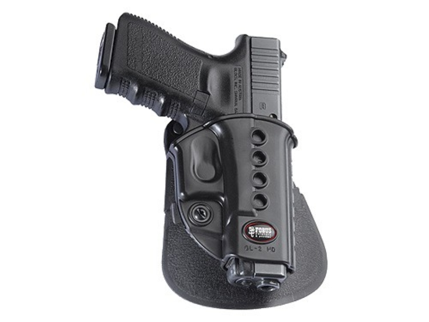 Fobus Evolution Paddle Holster Right Hand Glock 17, 19, 34, Walther PK380, KAHR CW40, P...
