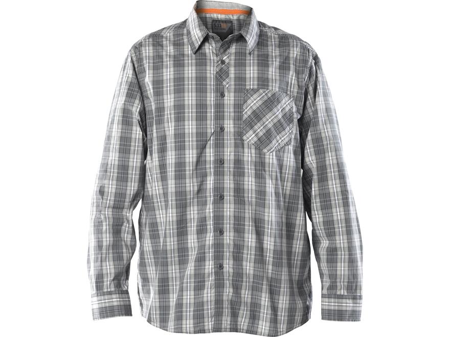 5.11 Men's Covert Flex Button-Up Shirt Long Sleeve Polyester