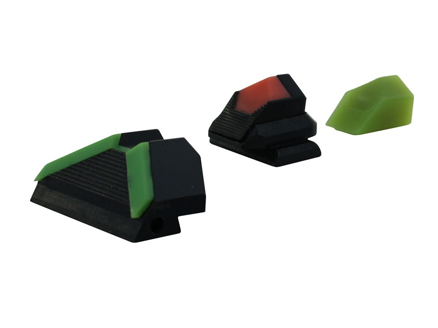 Advantage Tactical Firefly Triangular Sight Set FNS, FNX Steel Blue with Interchangeabl...