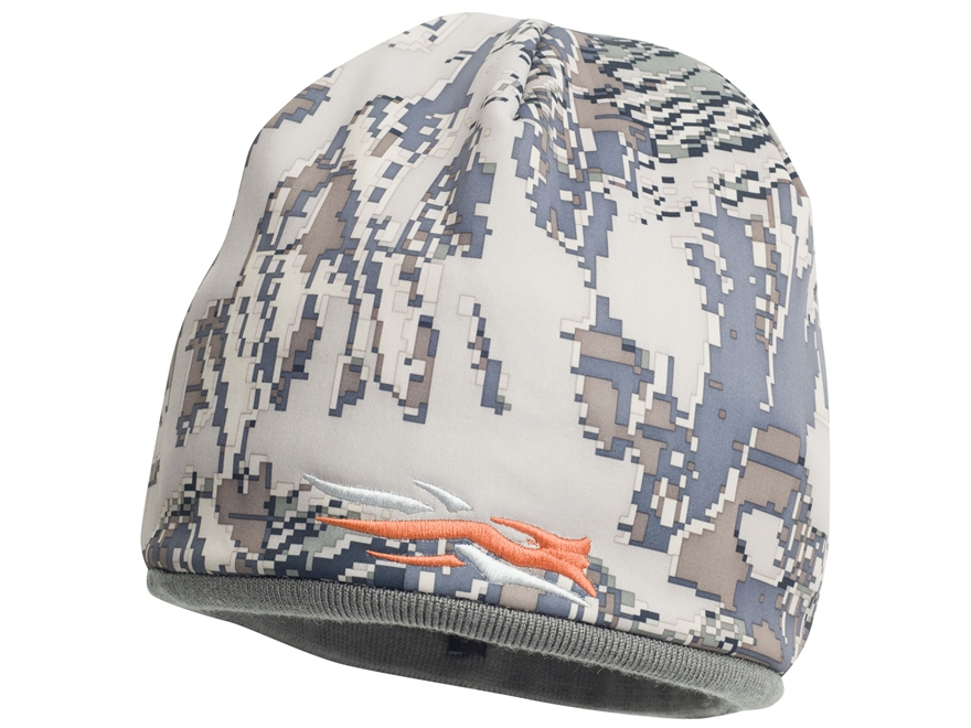 Sitka Gear Reversible Windstopper Beanie Polyester Woodsmoke and Gore Optifade Open Cou...