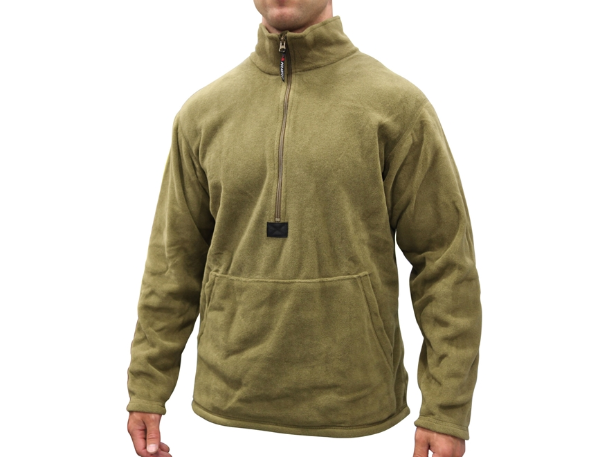 Military Surplus Fleece Pullover