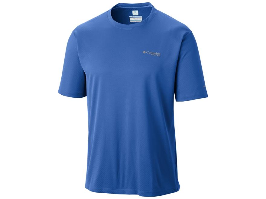 Columbia Men's PFG Zero Rules T-Shirt Short Sleeve Polyester