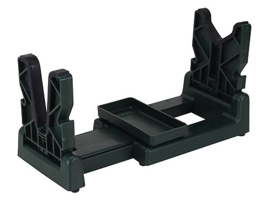 Shooters Ridge Folding Gun Maintenance Center Plastic Green