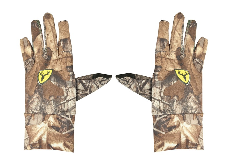 ScentBlocker Men's Trinity Text Touch Gloves Polyester