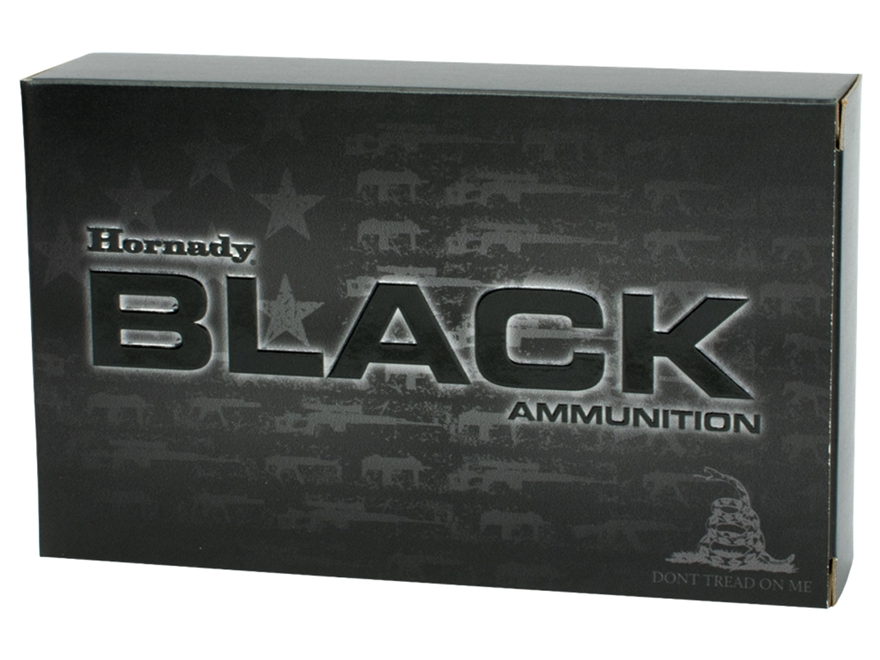 Hornady Black Ammunition 5.56x45mm NATO 75 Grain Interlock HD SBR Box of 20