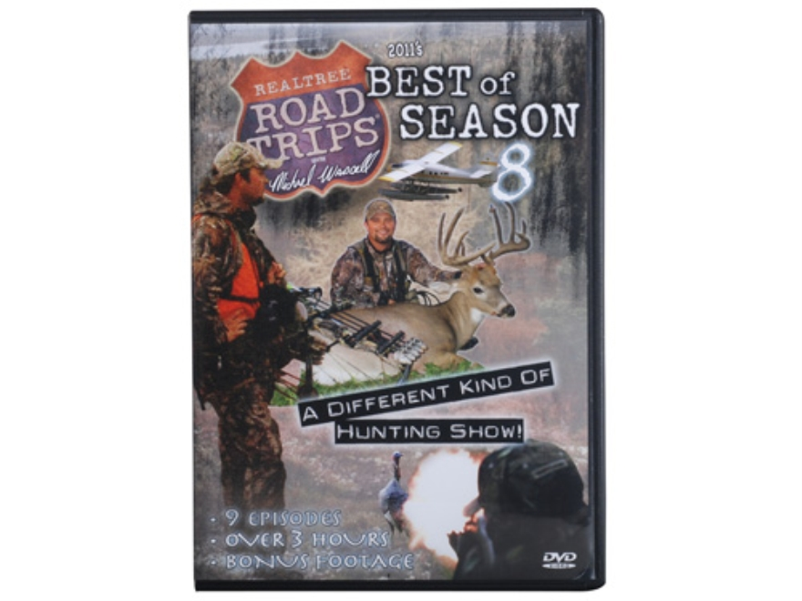 Realtree Road Trips 8 DVD