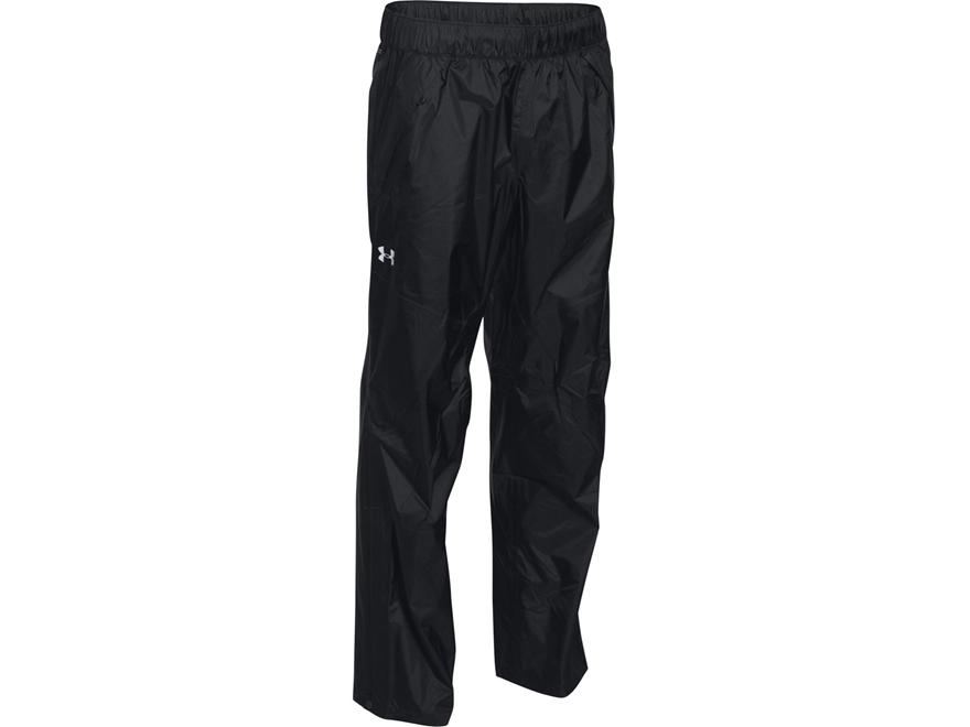 Under Armour Men's UA Surge Rain Pants Nylon Black 3XL