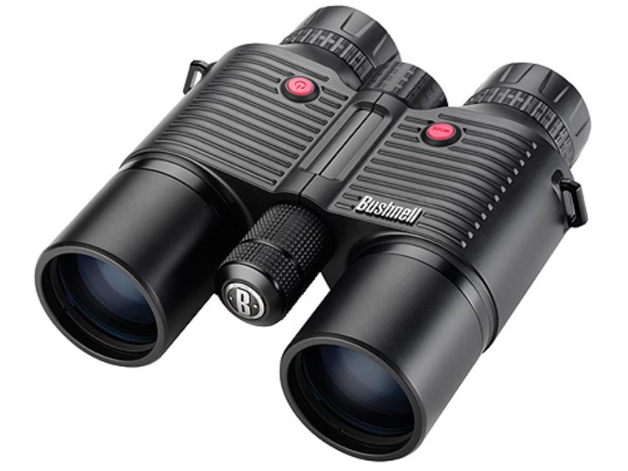 Bushnell Fusion 1600 ARC Laser Rangefinding Binocular 10x 42mm Roof Prism Matte