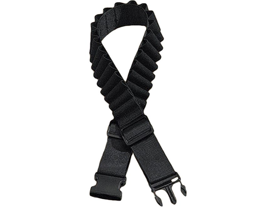 "Hunter 1251 Ruffstuff Cartridge Belt 2"" Nylon Black"