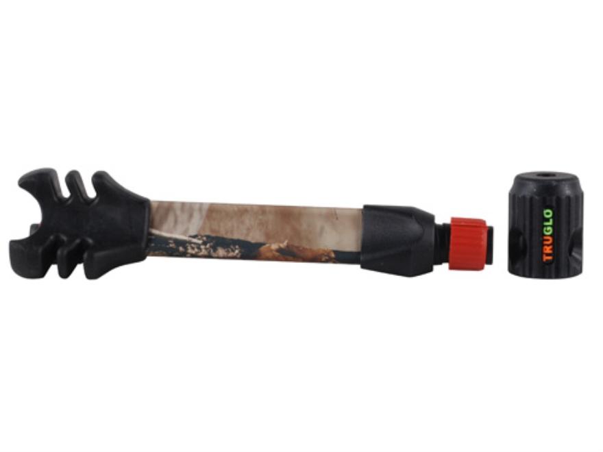 TRUGLO TRU-TEC QD Bow Stabilizer Aluminum and Rubber Realtree AP HD Camo