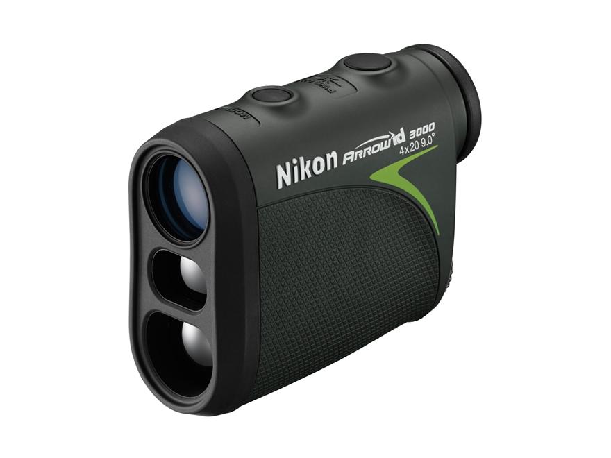 Nikon Arrow ID 3000 Laser Rangefinder 4x Dark Green