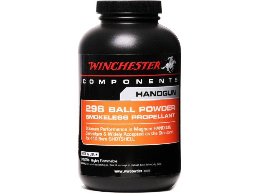 Winchester 296 Smokeless Powder