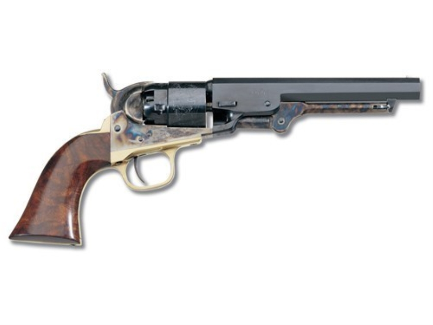 "Uberti 1862 Pocket Navy Black Powder Revolver 36 Caliber 6.5"" Barrel Steel Frame Blue"