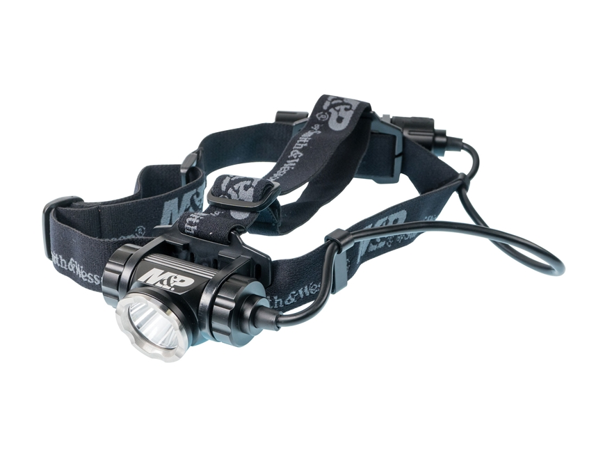 Smith & Wesson Delta Force HL-20 Headlamp LED with Rechargeable Li-Ion Battery Aluminum...