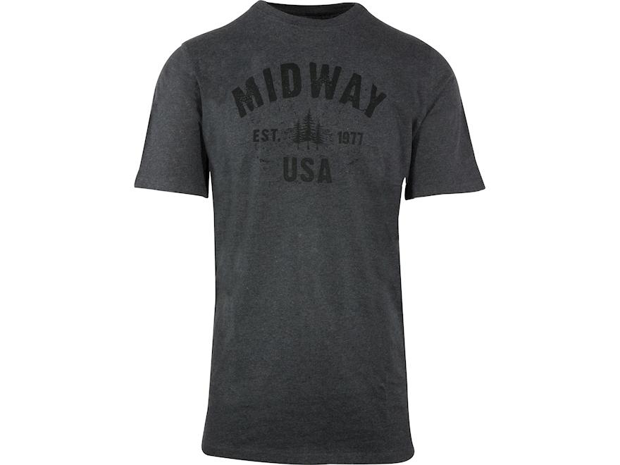 MidwayUSA Men's Short Sleeve T-Shirt Cotton Blend