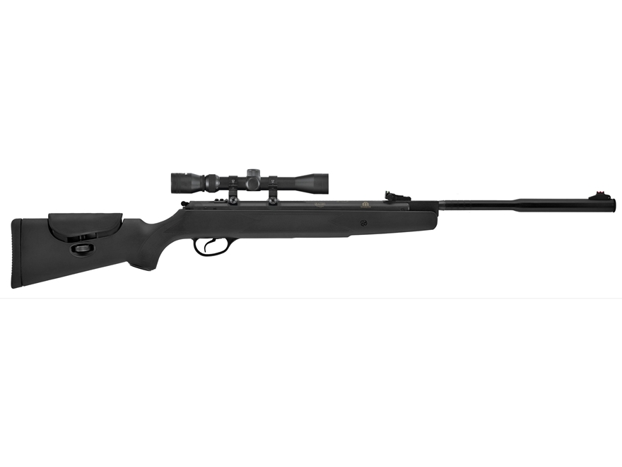Hatsan Model 87 Vortex Quiet Energy Break Barrel Air Rifle Pellet Black Synthetic Stock...