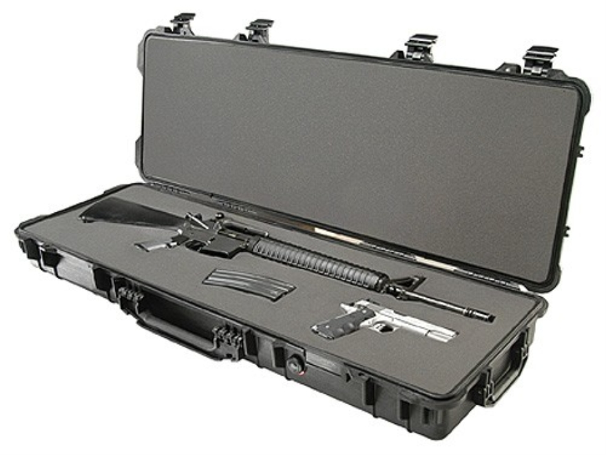 Pelican 1720 Scoped Rifle Case with Wheels Polymer