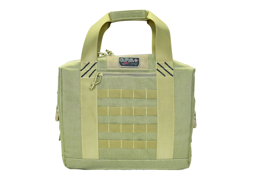 G.P.S. Tactical Cooler With Handgun Storage Nylon Tan