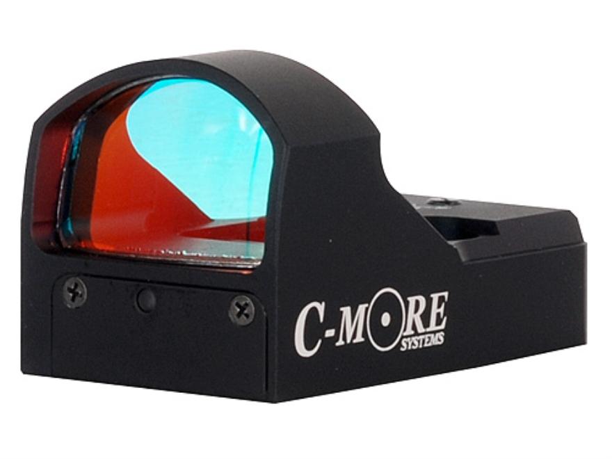 C-More STS Tactical Reflex Red Dot Sight 7 MOA Dot Matte