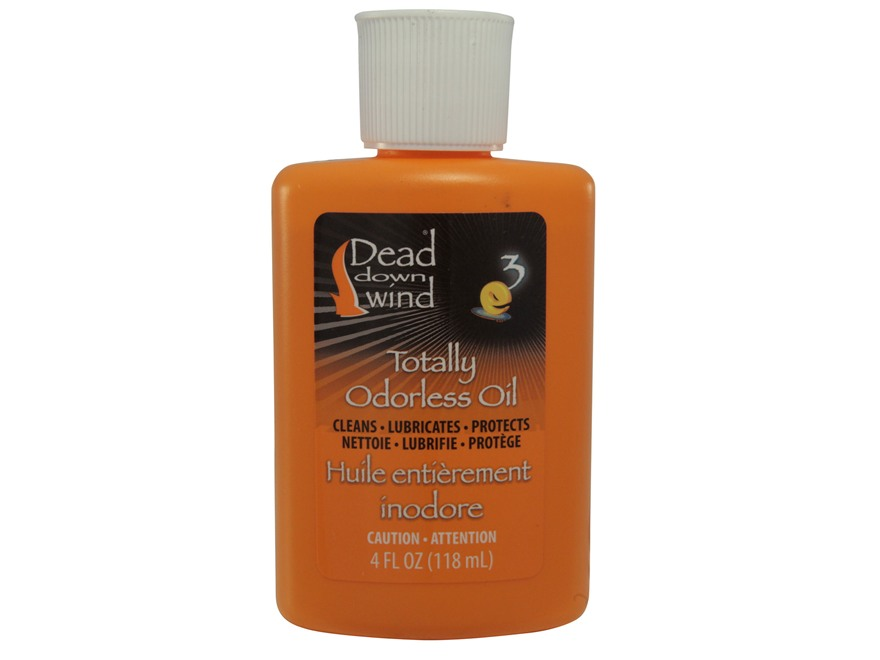 Dead Down Wind Odorless Firearm/Bow Oil with Dripper Cap 4 oz