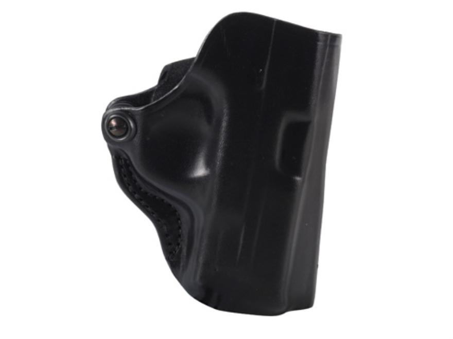DeSantis Mini Scabbard Belt Holster Smith & Wesson M&P Compact 9mm, 40 S&W Leather