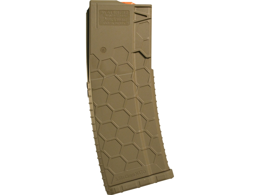 Hexmag HX Series 2 Magazine AR-15 223 Remington Polymer