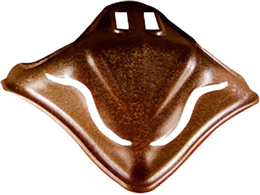 Skull Hooker Skull Cap European Mount Display Steel Robust Brown
