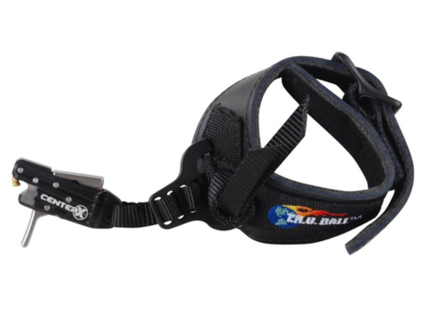 T.R.U. Ball Center X-S1 Bow Release Buckle Wrist Strap Black