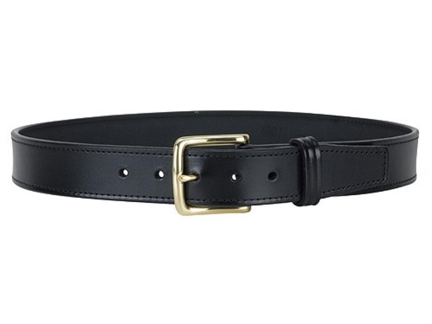 """Gould & Goodrich B191 Dress Belt 1-1/2"""" Brass Buckle Leather"""