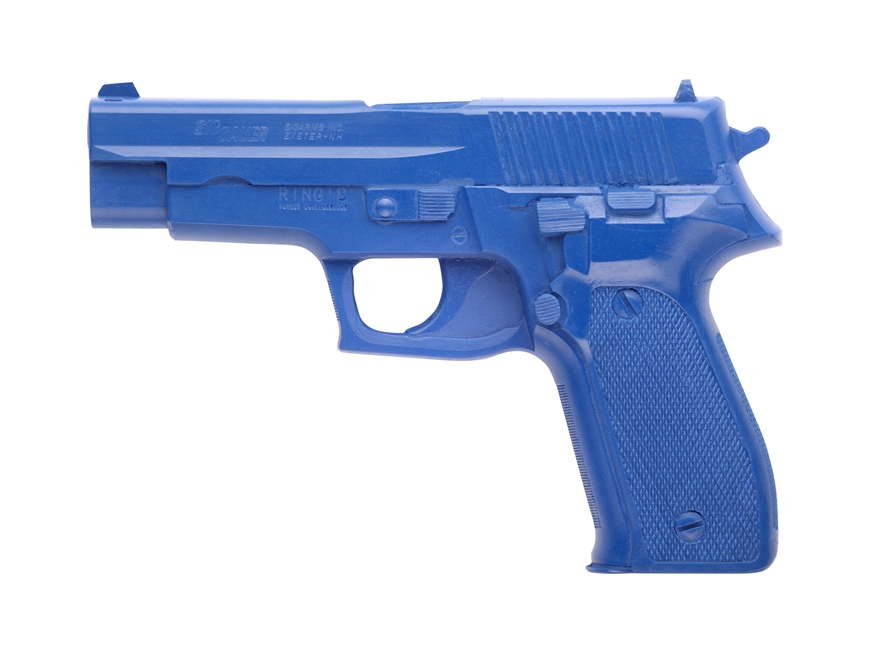 BlueGuns Firearm Simulator Sig Sauer P226 Polyurethane Blue