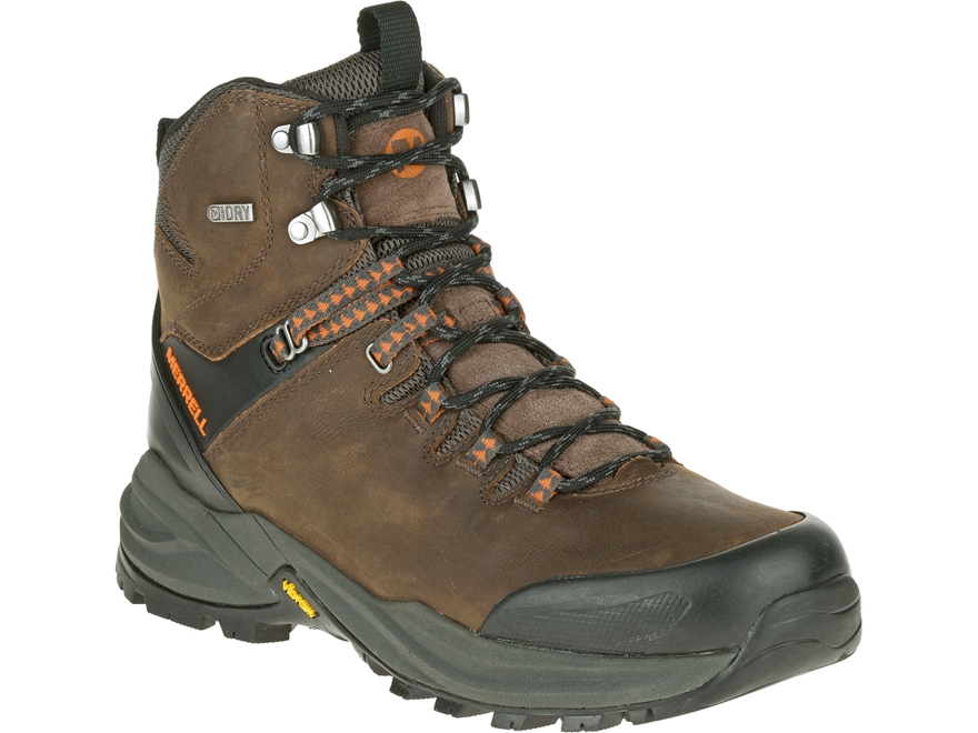 "Merrell Phaserbound 6"" Waterproof Hiking Boots Leather Men's"