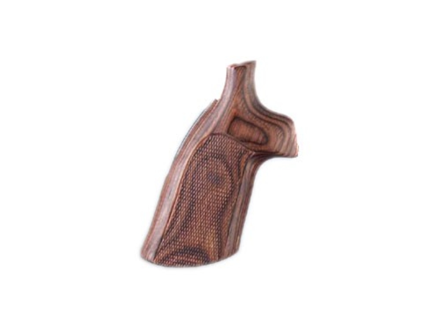 Hogue Fancy Hardwood Grips Ruger GP100, Super Redhawk Checkered